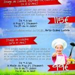 stages de cuisine Vivacook de 4 à 14 ans à Stoumont