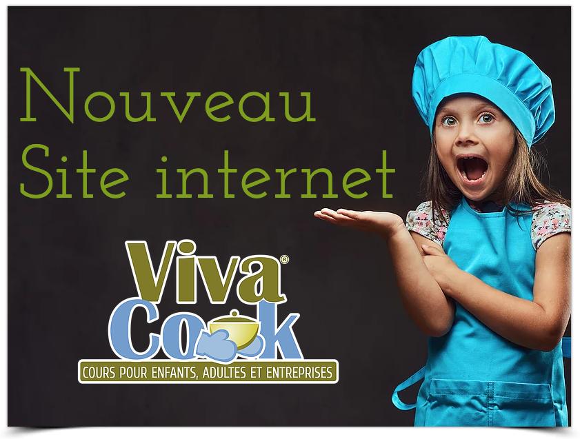 Nouveau site internet Vivacook